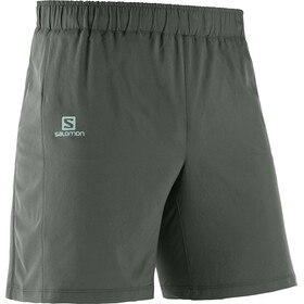 "Salomon Agile - Short running Homme - 7"" gris"